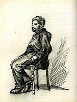 Seated Man with a Beard, vangogh