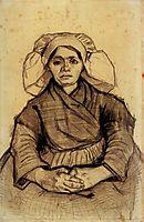 Seated Woman, 1885, vangogh