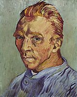 Self-Portrait, 1889, vangogh