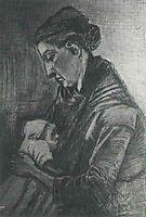 Sien Nursing Baby, 1882, vangogh