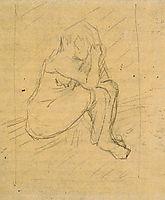 Sorrowing Woman, 1887, vangogh
