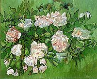 Still Life - Pink Roses , 1890, vangogh