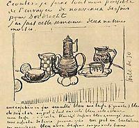 Still Life with Coffee Pot, 1888, vangogh