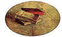 Still Life with Three Books, 1887, vangogh