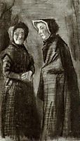 Two Women, 1882, vangogh