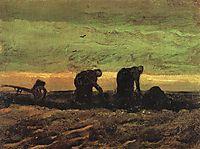 Two Women in the Moor, 1883, vangogh