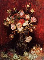 Vase with Asters and Phlox, 1886, vangogh
