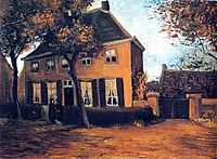 The Vicarage at Nuenen, 1885, vangogh