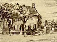 Vicarage at Nuenen, 1885, vangogh