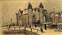 View of Het Steen, 1885, vangogh