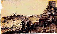 View of Montmartre, 1886, vangogh