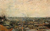View of Paris from Montmartre, 1886, vangogh