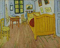 Vincent-s Bedroom in Arles, 1888 (oct), vangogh