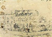 Vincent-s Boarding House in Hackford Road, Brixton, London, c.1873, vangogh