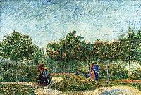 The Voyer d-Argenson Park in Asnieres , 1887, vangogh