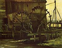Water Wheels of Mill at Gennep , 1884, vangogh