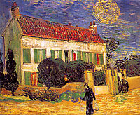 White House at Night, 1890, vangogh
