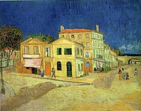 The Yellow House, 1888, vangogh