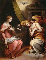 The Annunciation, vasari