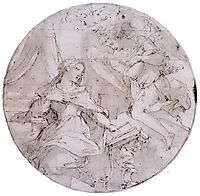 The Annunciation, 1571, vasari
