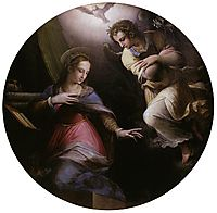 The Annunciation , 1571, vasari