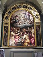 Assumption of the Virgin, vasari
