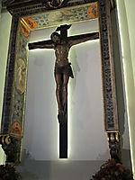 Chapel of the Crucifix, the Cross of Baccio da Montelupo, vasari