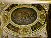 Chapel with the Lord in glory, vasari