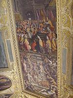 Clement VII crowns Charles V, vasari