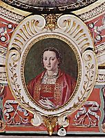 Eleonora of Toledo, daughters of the viceroy of Naples Pedro of Toledo, wife to Cosimo I de Medici, Duke of Florence and Siena, vasari