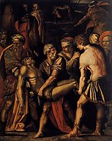 Entombment, 1532, vasari
