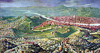 Fresco of the 1530 Siege of Florence, vasari