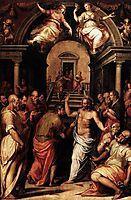The Incredulity of St. Thomas, 1572, vasari
