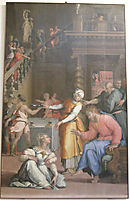 Jesus Christ in the House of Martha and Mary, vasari