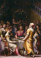 Marriage at Cana, 1566, vasari