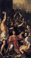 Martyrdom of St. Stephen, c.1560, vasari