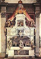 Monument to Michelangelo, 1570, vasari