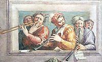 Musicians, c.1545, vasari