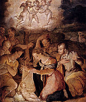 The Nativity With The Adoration Of The Shepherds, c.1554, vasari