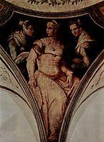 Portrait of Nicolosa Bacci and the a noblewoman from Arezzo, vasari