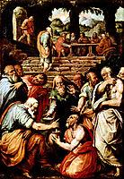 The Prophet Elisha cleansing Naaman, 1560, vasari