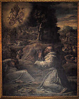 St. Francis receiving the Stigmata, 1548, vasari