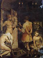 The Studio of the Painter, c.1563, vasari