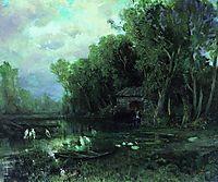 Abandoned Mill, 1873, vasilyev