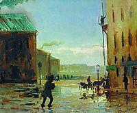After a Rain (Spring in St. Petersburg), 1867, vasilyev