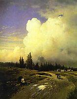 After a Thunderstorm, 1868, vasilyev