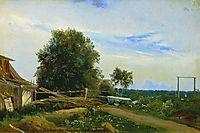 The Barn, 1868, vasilyev