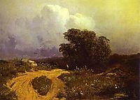 Before a Thunderstorm, 1868, vasilyev