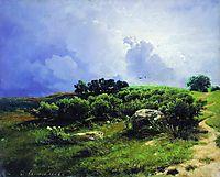 Before a Thunderstorm, 1869, vasilyev