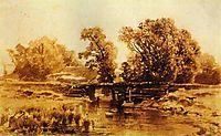 Bridge over a Brook, 1870, vasilyev